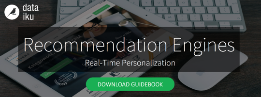 Recommendation Engines and Real-time personalization – download guidebook
