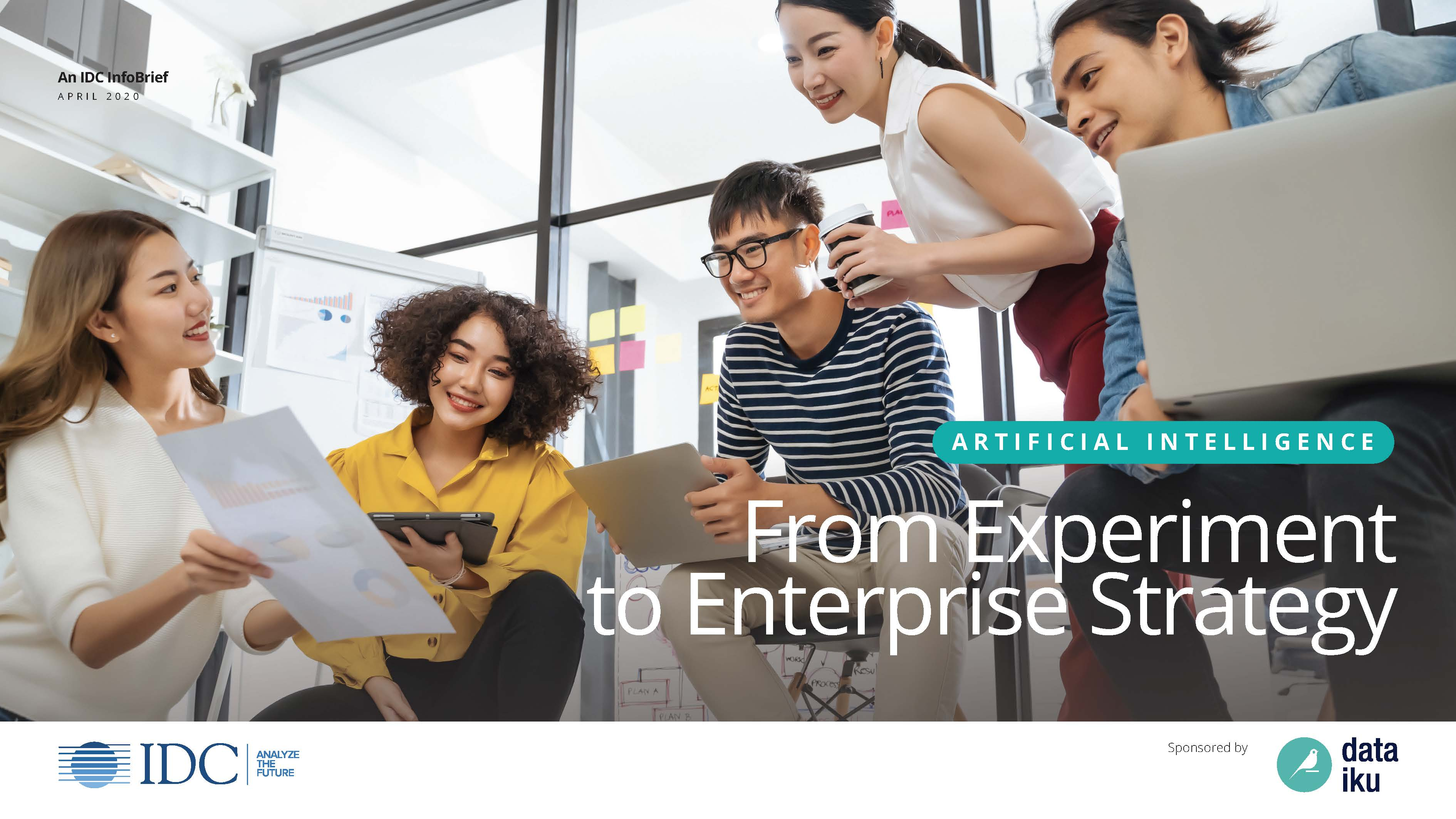Dataiku IDC InfoBrief_AI From Experiment to Enterprise Strategy_Final_Page_01