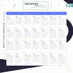 SMALL COVER IMAGE Data Science from Home Calendar DATA TEAM MGR March 2020