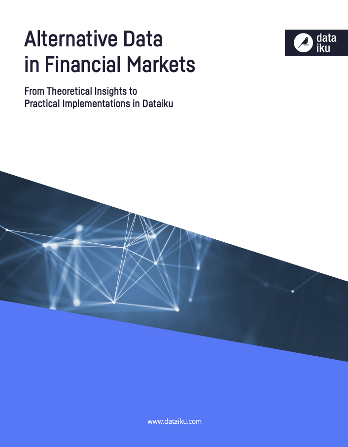 Alternative data in financial markets blue cover