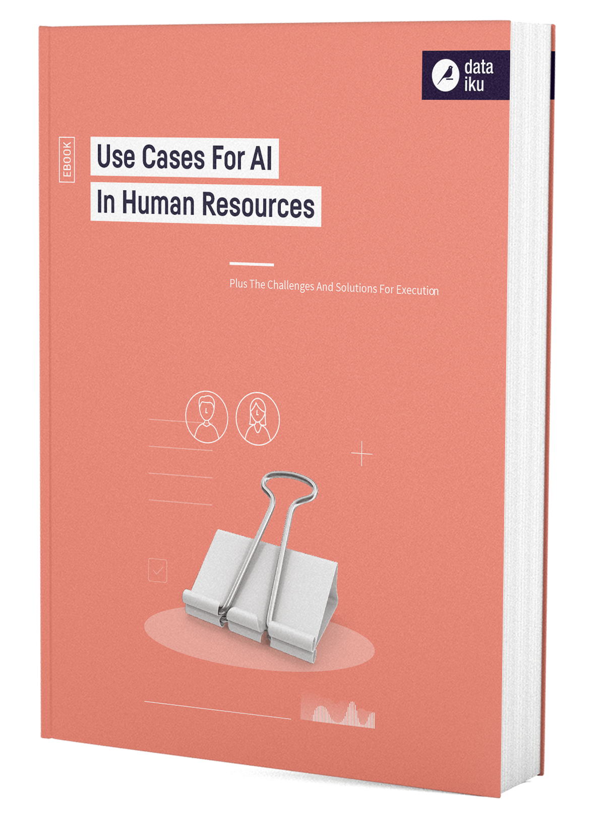 3D Cover AI in HR Human Resources