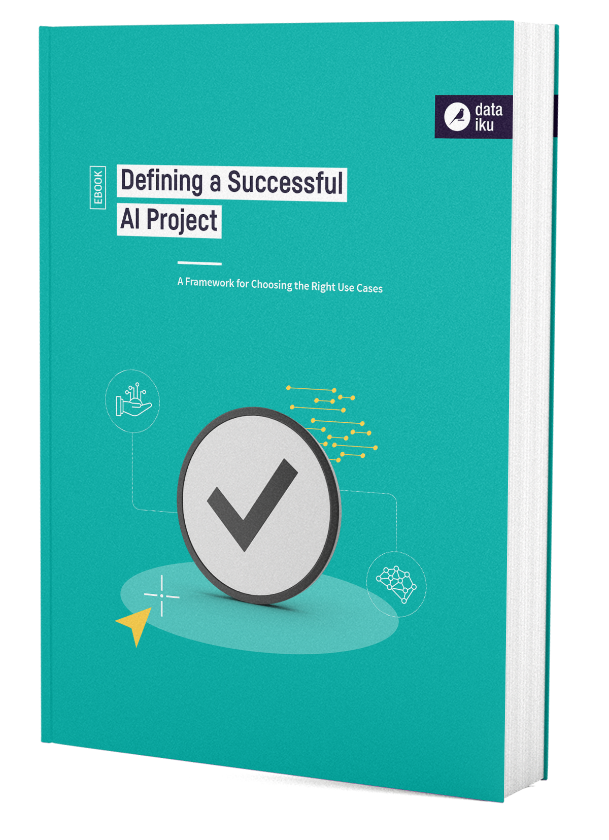 3D Cover Defining a Successful AI Project