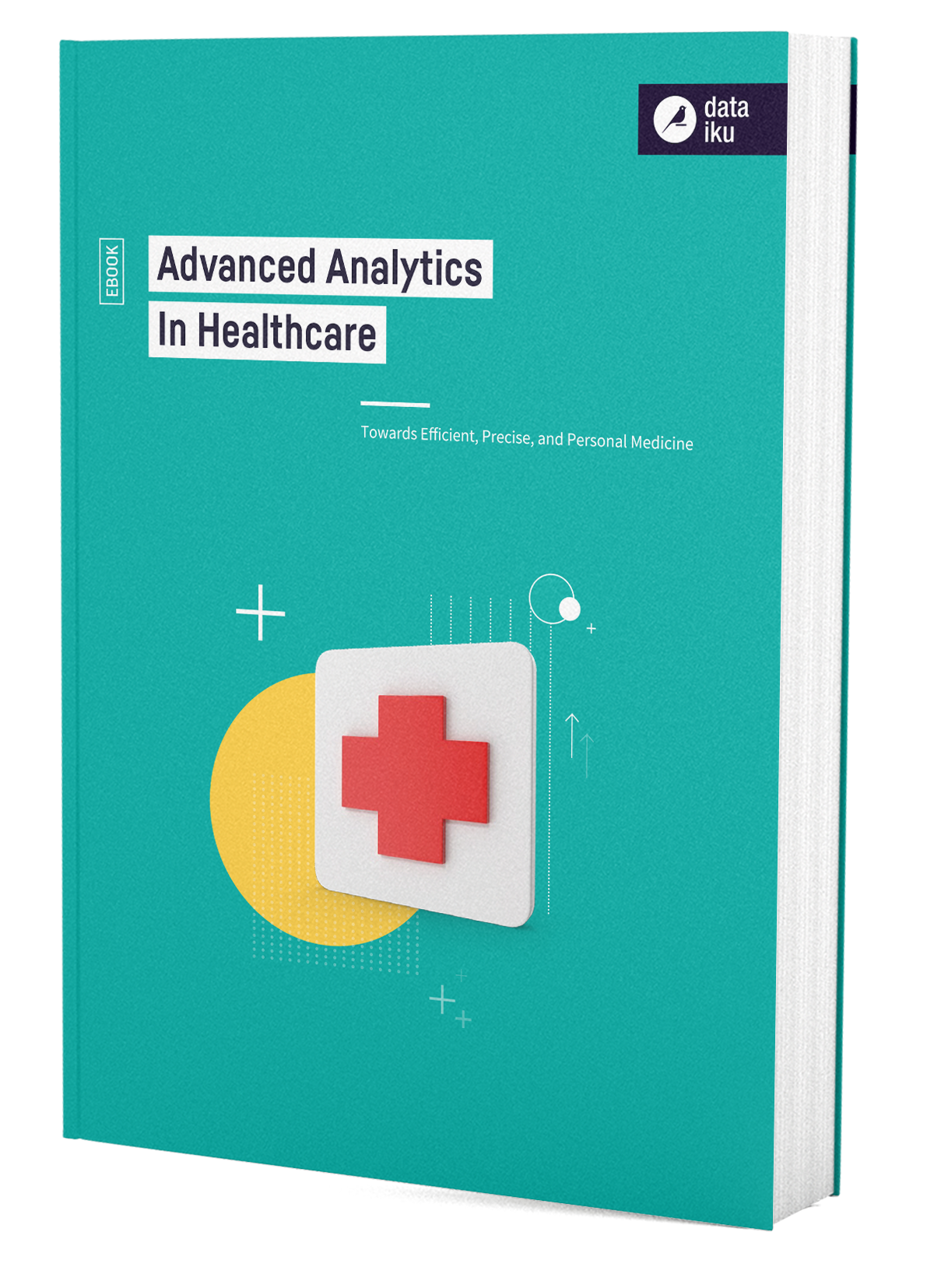 3D Cover for AI Advanced Analytics in Healthcare